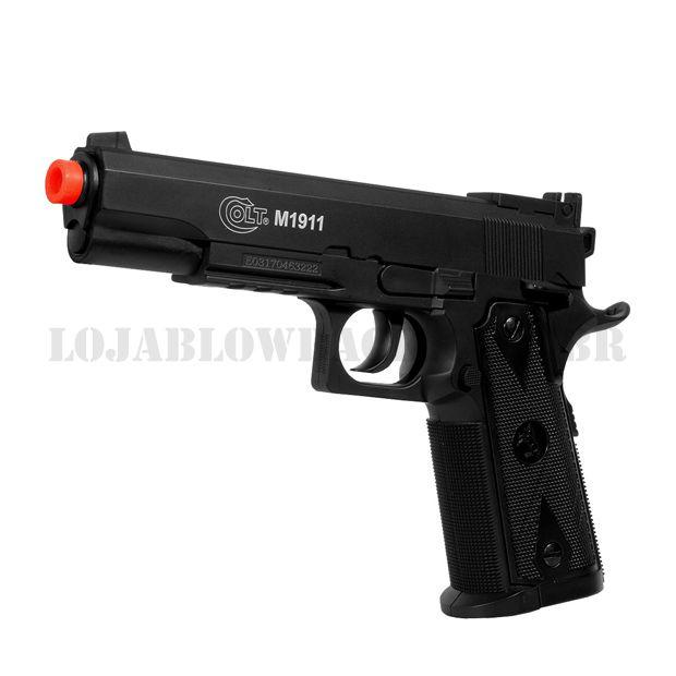 Pistola CO2 Airsoft 1911 Licenciada Colt