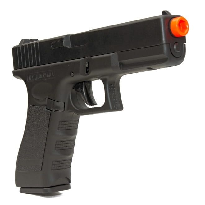 Pistola Airsoft Elétrica Glock 18c Cm.030 Cyma Rajada He3