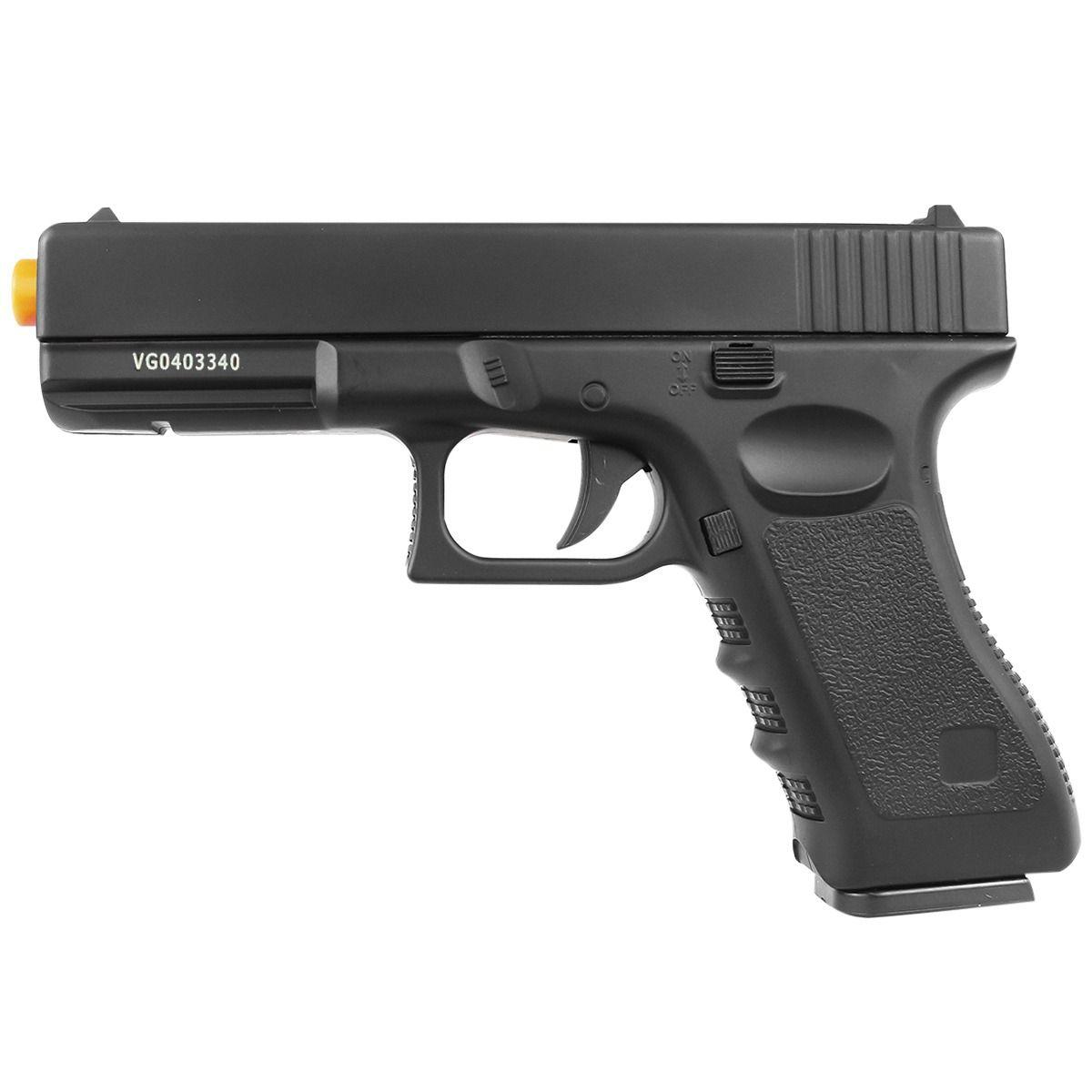 Pistola Airsoft Spring Full Metal Glock GK-V20 6mm