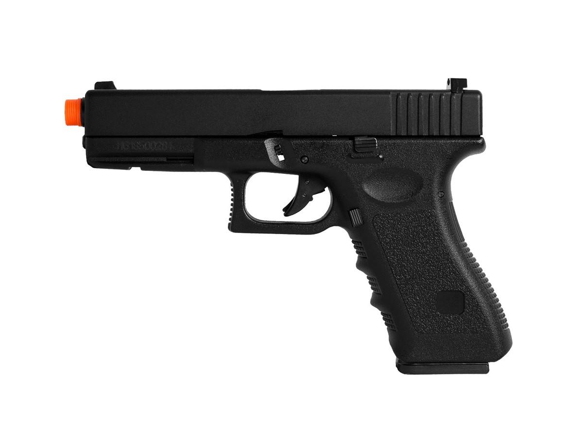 Pistola Airsoft Glock G18 GBB BlowBack HFC 6mm + 1000 Bbs