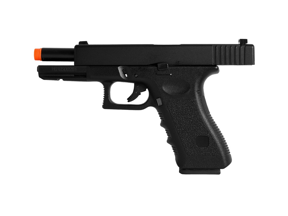 Pistola Airsoft Glock G18 GBB BlowBack HFC 6mm + 2000 Bbs