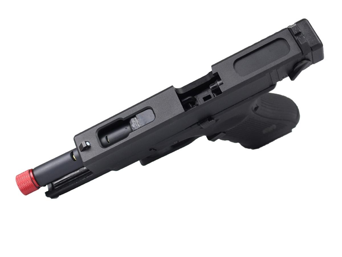 Pistola de Airsoft Glock R18 Gbb Metal C/ Rajada Rossi 6mm + Green Gás loja Blowback + Maleta loja Blowback + 3000 Bbs 0,20g loja Blowback + Coldre robocop