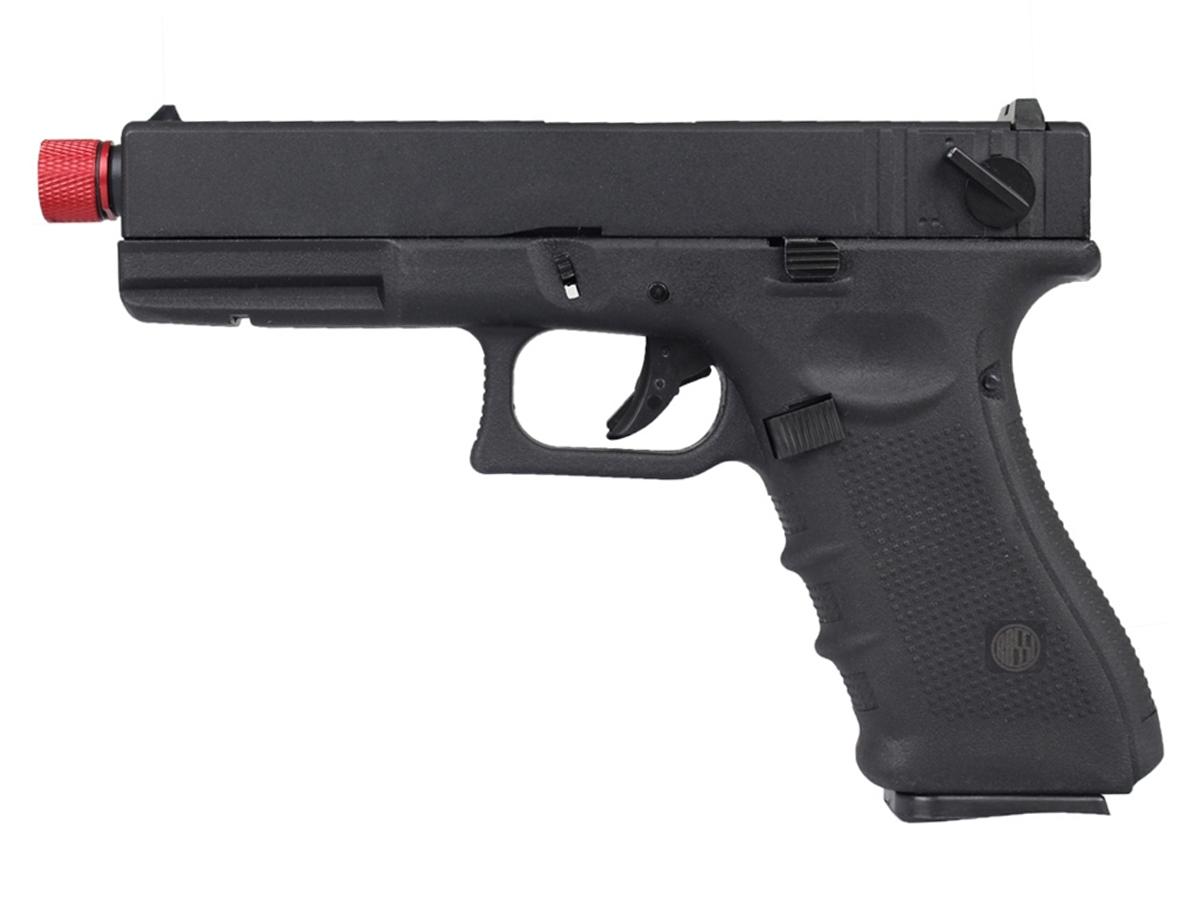 Pistola de Airsoft Glock R18 Gbb Metal C/ Rajada Rossi 6mm + Green Gás loja Blowback + Maleta loja Blowback + 4000 Bbs 0,20g loja Blowback + Coldre robocop