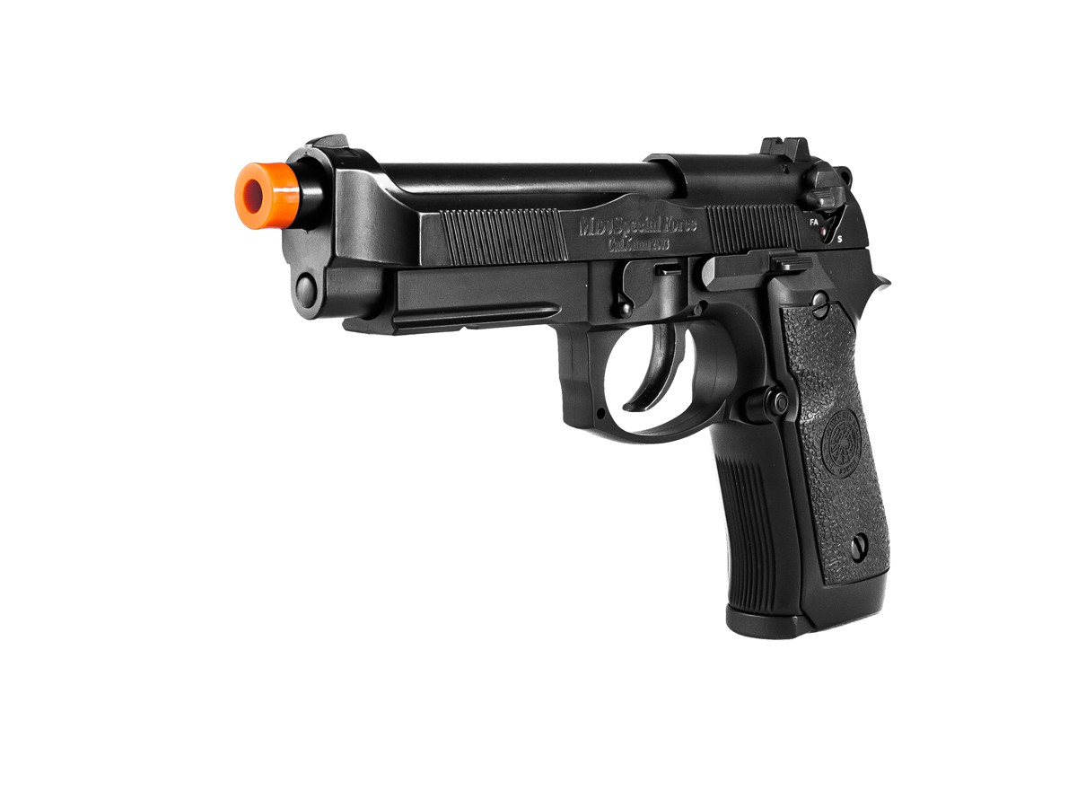 Pistola Airsoft HFC PT92 GBB Blowback 6mm K1+ Coldre robocop