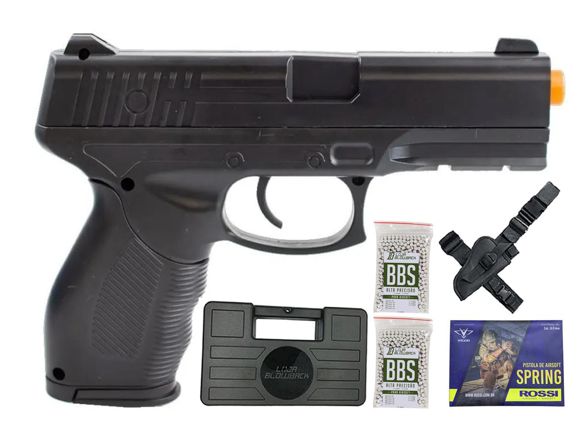 Pistola Airsoft Spring Rossi PT 24/7 v310 Vigor PT24/7 K10