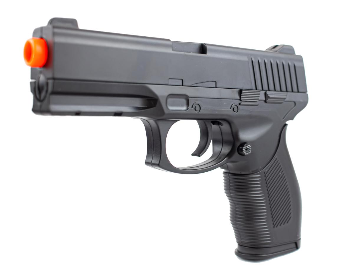 Pistola Airsoft Spring 24/7 V310 + 3000 Bbs 0,12g loja Blowback + Coldre robocop