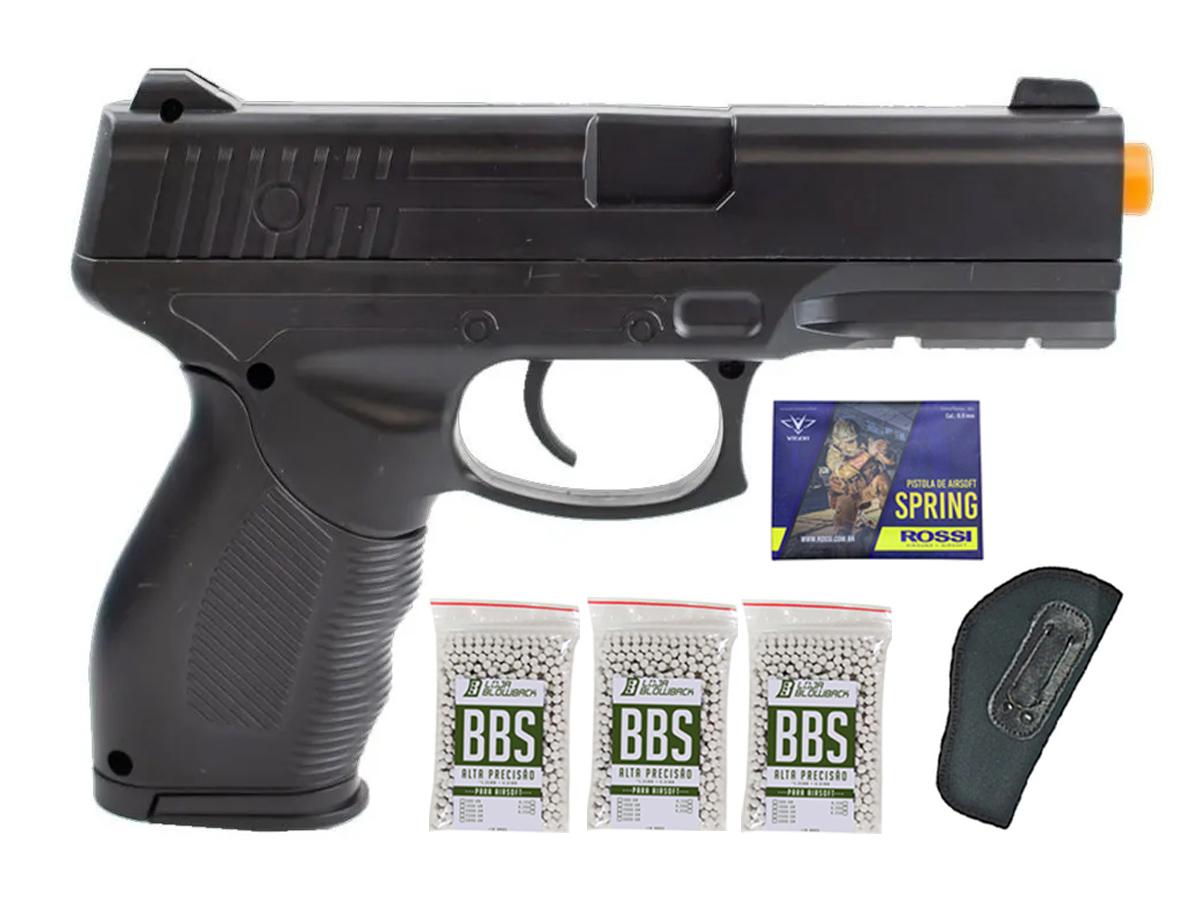 Pistola Airsoft Spring Rossi PT 24/7 v310 Vigor PT24/7 K13