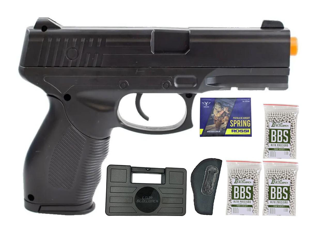 Pistola Airsoft Spring Rossi PT 24/7 v310 Vigor PT24/7 K14