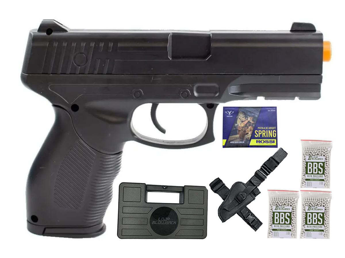 Pistola Airsoft Spring Rossi PT 24/7 v310 Vigor PT24/7 K15