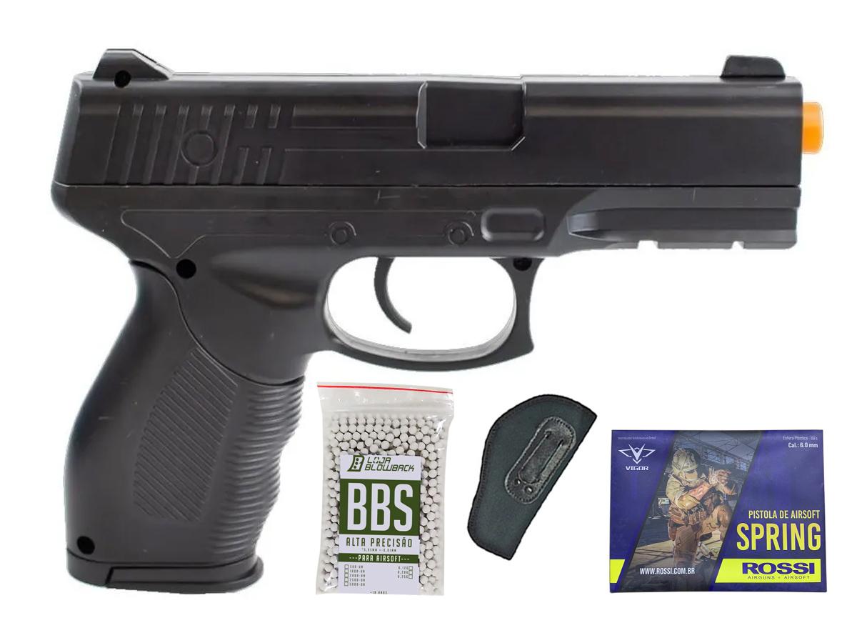 Pistola Airsoft Spring Rossi PT 24/7 v310 Vigor PT24/7 K3