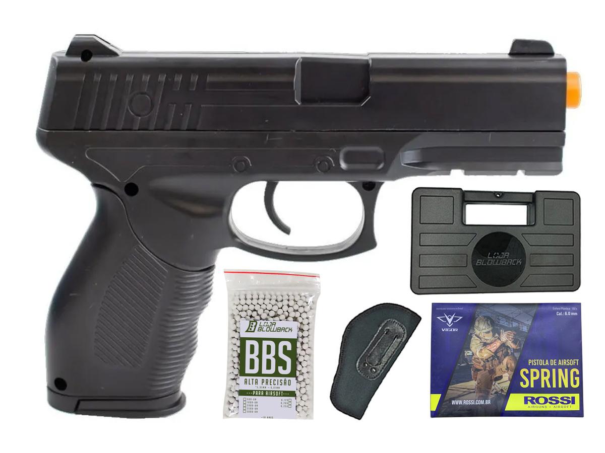Pistola Airsoft Spring Rossi PT 24/7 v310 Vigor PT24/7 K4