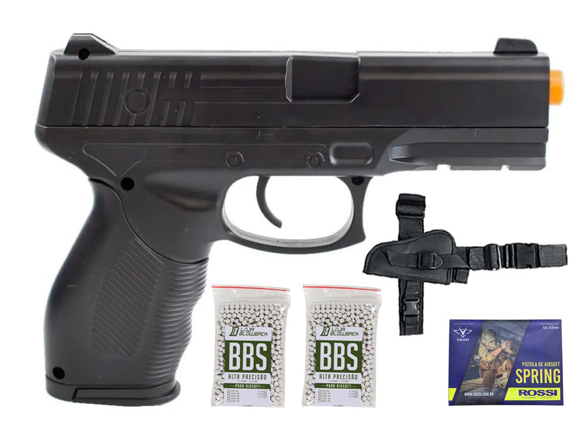 Pistola Airsoft Spring Rossi PT 24/7 v310 Vigor PT24/7 K7
