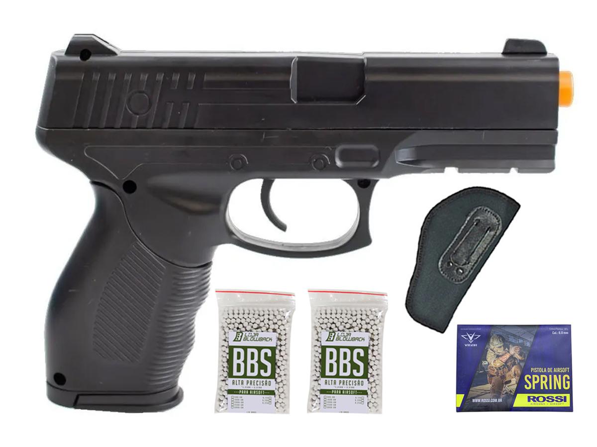 Pistola Airsoft Spring Rossi PT 24/7 v310 Vigor PT24/7 K8