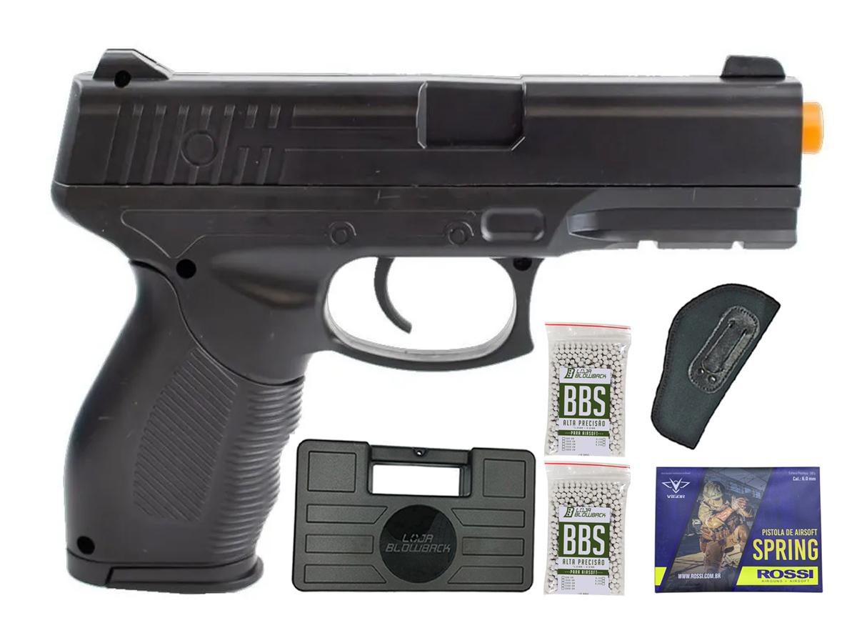 Pistola Airsoft Spring Rossi PT 24/7 v310 Vigor PT24/7 K9