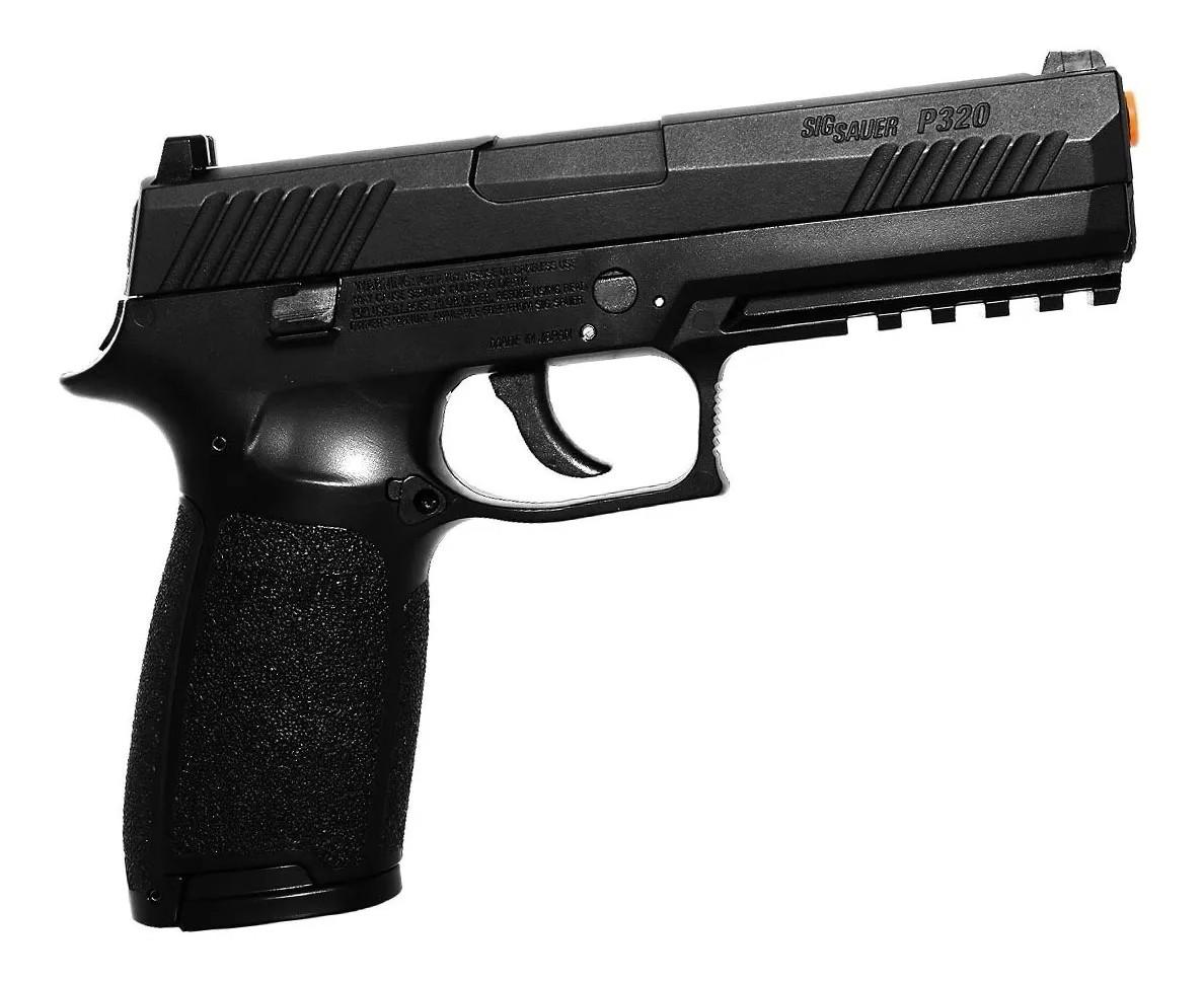 Pistola de Chumbinho Sig Sauer P320 Co2 com Blowback  4.5mm K1