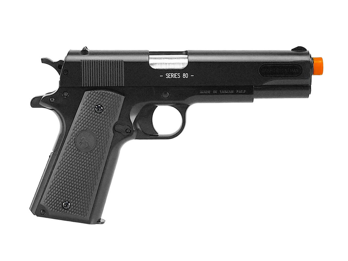Pistola de Airsoft Colt 1911 Slide Metal 6mm Cybergun H11