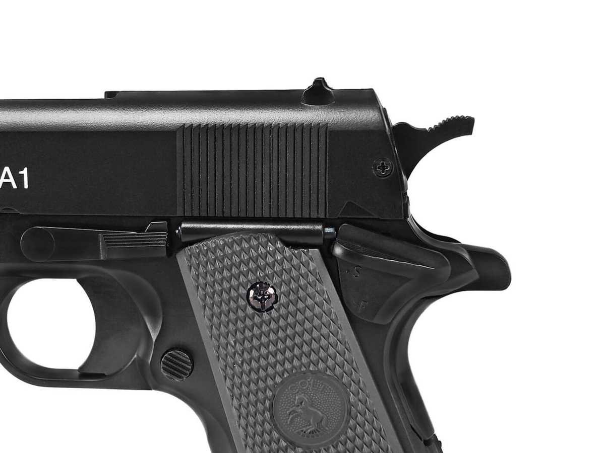 Pistola de Airsoft Colt 1911 Slide Metal 6mm Cybergun K8