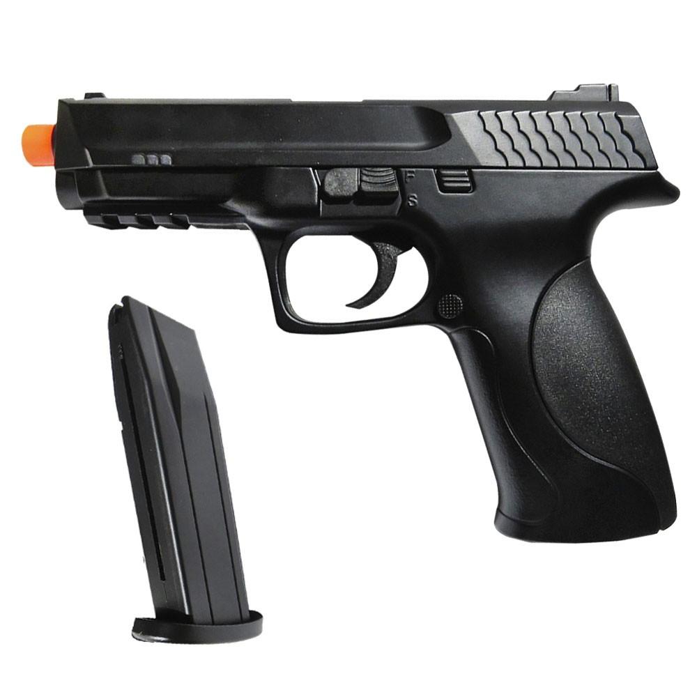 Pistola De Airsoft M&P .40 Spring Double Eagle M293A H1