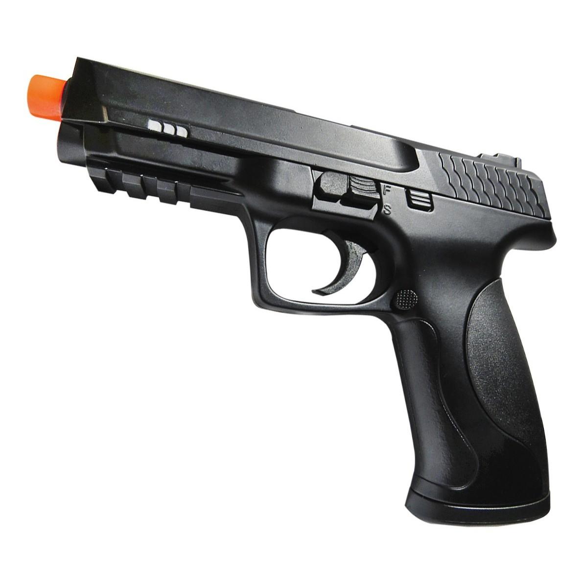Pistola De Airsoft M&P .40 Spring Double Eagle M293A H2