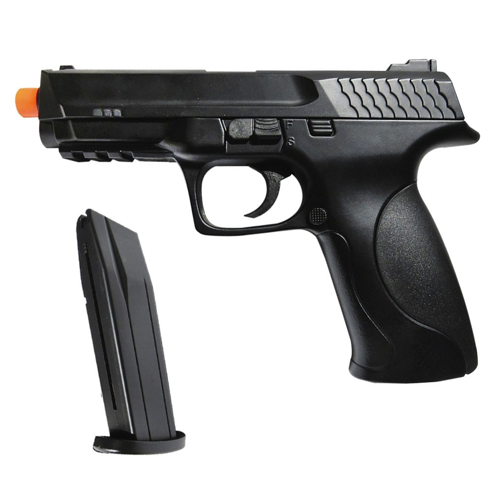 Pistola De Airsoft M&P .40 Spring Double Eagle M293A H3