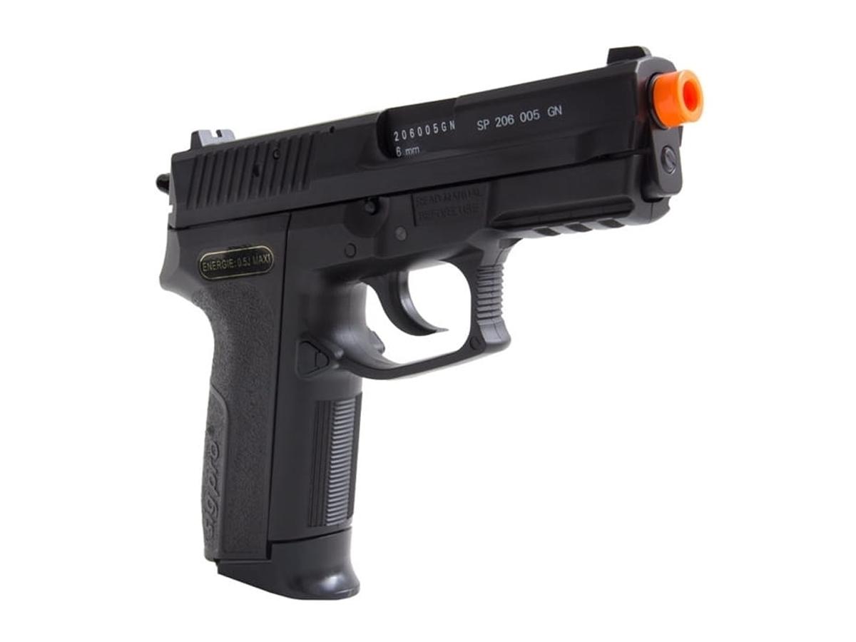 Pistola De Airsoft Sig Sauer Sp2022 Cybergun Spring 6mm H16
