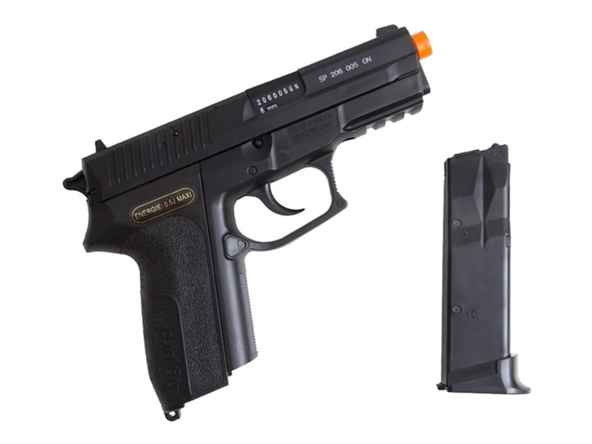 Pistola De Airsoft Sig Sauer Sp2022 Cybergun Spring 6mm H5