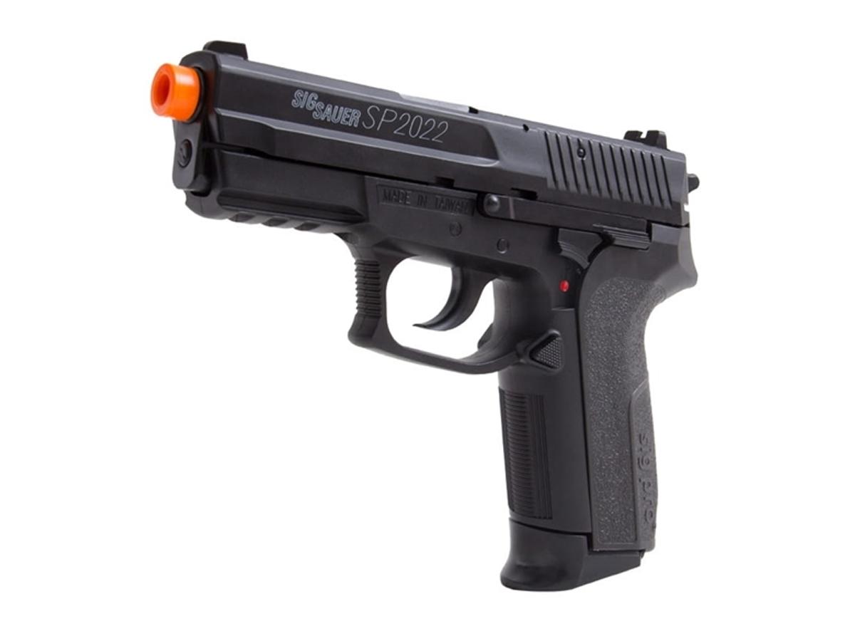 Pistola De Airsoft Sig Sauer Sp2022 Cybergun Spring 6mm H8