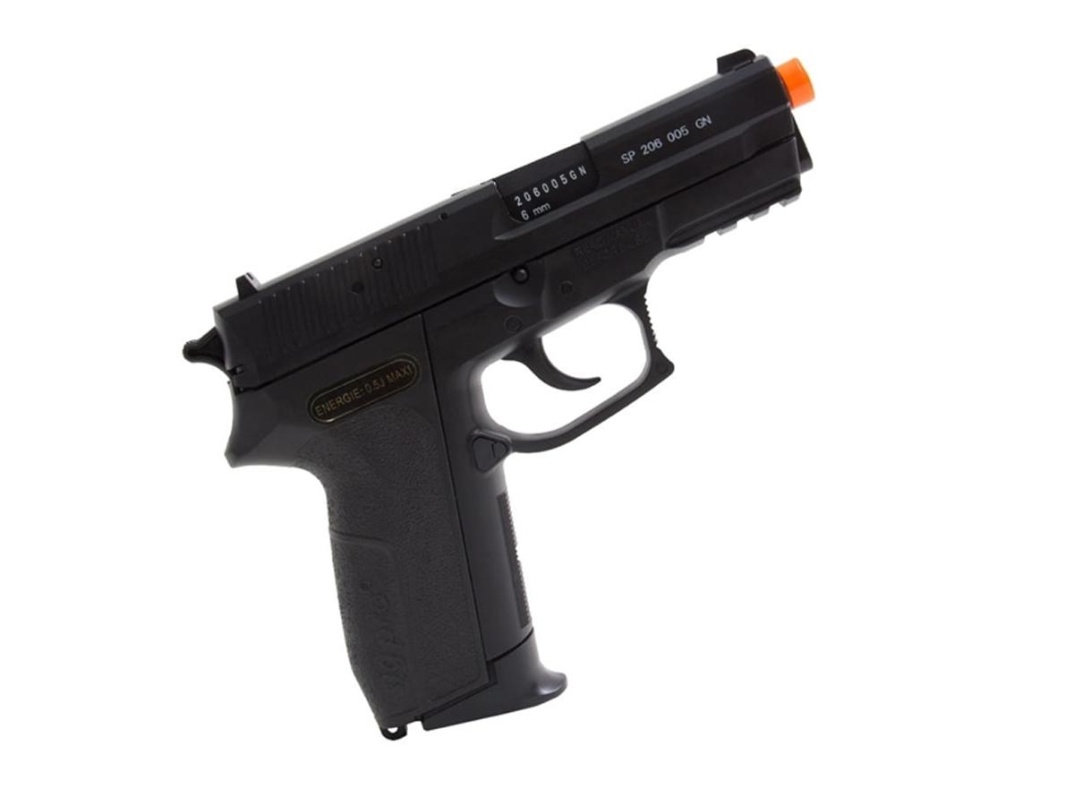 Pistola De Airsoft Sig Sauer Sp2022 Cybergun Spring 6mm K12