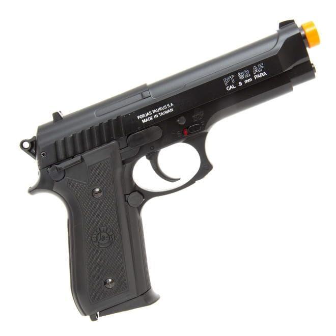 Pistola de Airsoft Spring Cybergun Taurus PT92 Slide Metal 6mm - Preta
