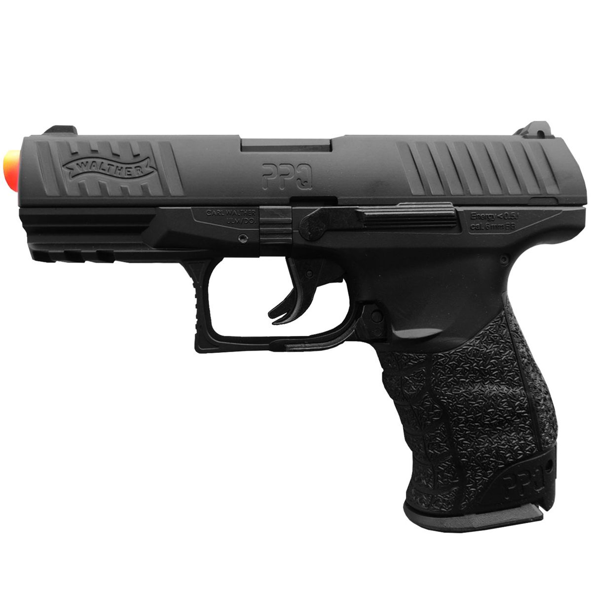 Pistola De Airsoft Walther Ppq Full Metal Spring 6mm