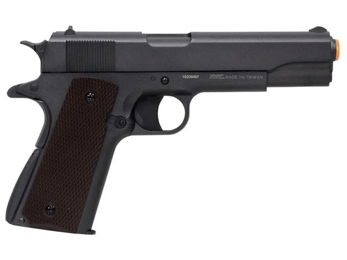 Pistola De Chumbinho Co2 1911 Airgun Pressão Tipo Carabina + Kit 2