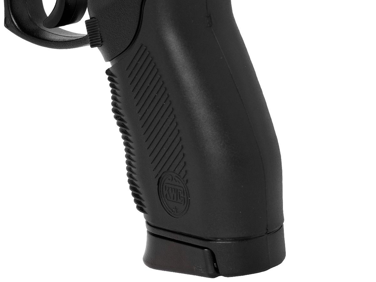 Pistola de pressão 24/7 slide metal airgun 4.5mm spring + maleta/case + 1000 esferas de aço