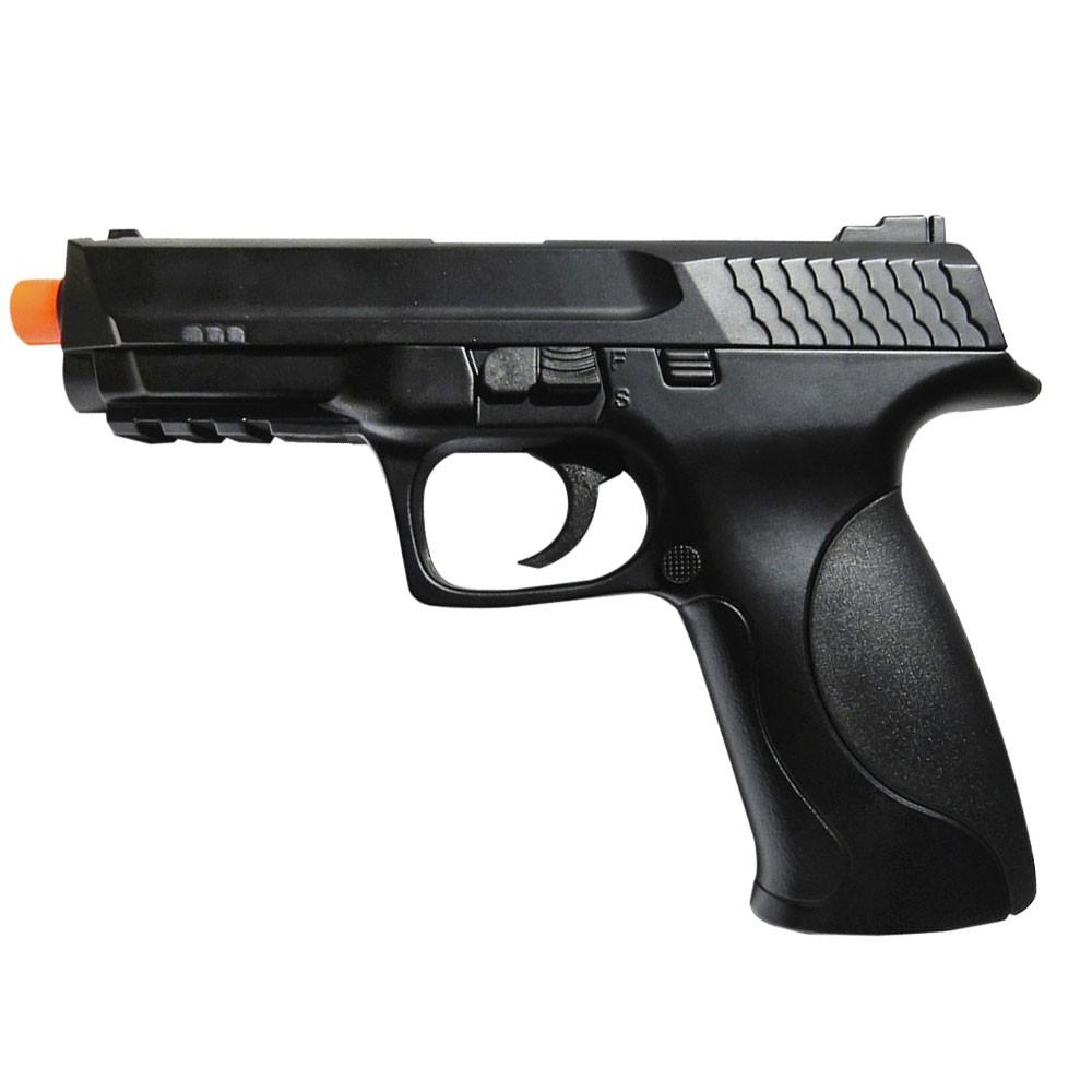 Pistola De Pressão Airgun Pt 24/7 Co2 4,5mm Esferas Aço K3 + M293