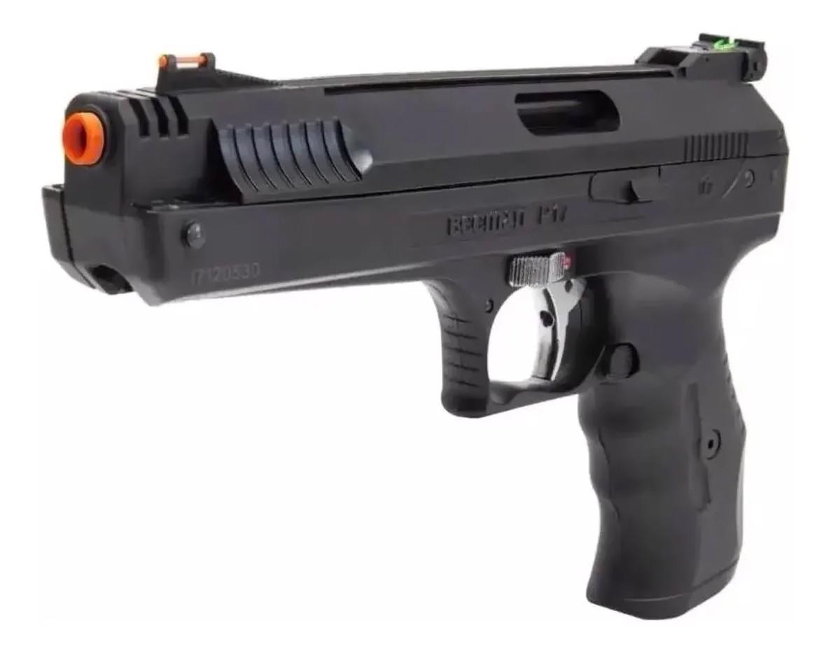 Pistola de Pressão Beeman 2004 5.5mm Airgun + 4 Pack de Chumbinho