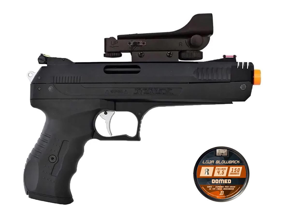 Pistola De Pressao Chumbinho Beeman 2006 4,5mm C/ Red Dot K2