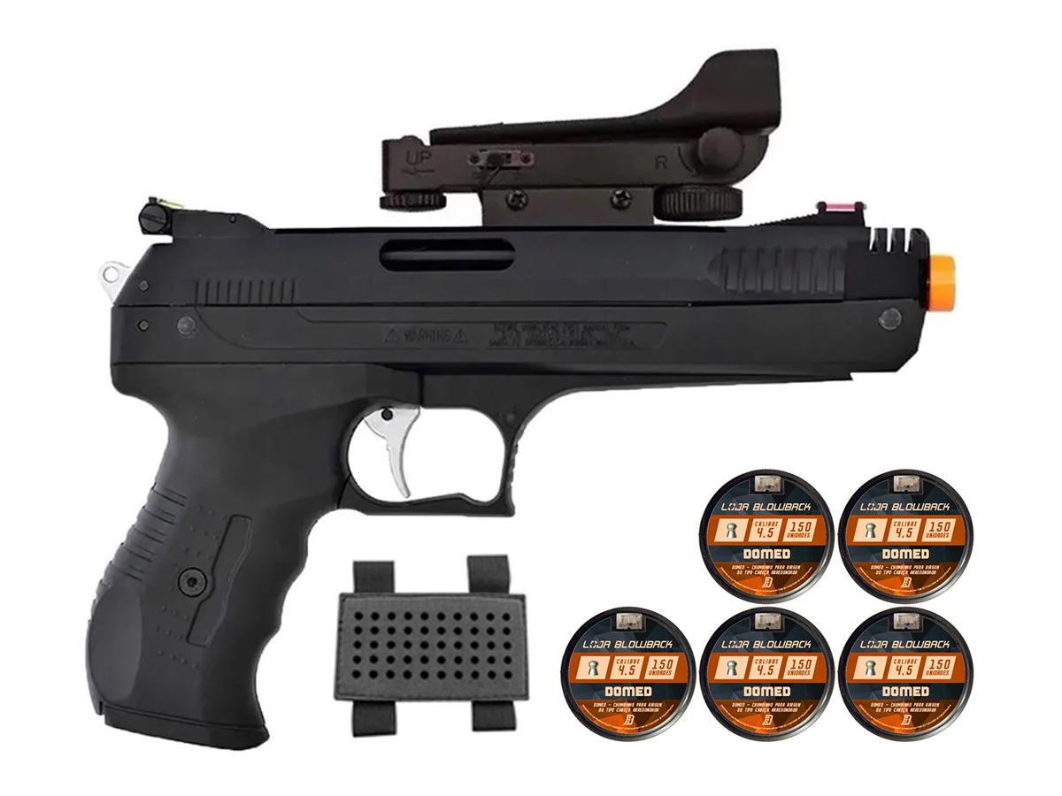 Pistola De Pressao Chumbinho Beeman 2006 4,5mm C/ Red Dot K6