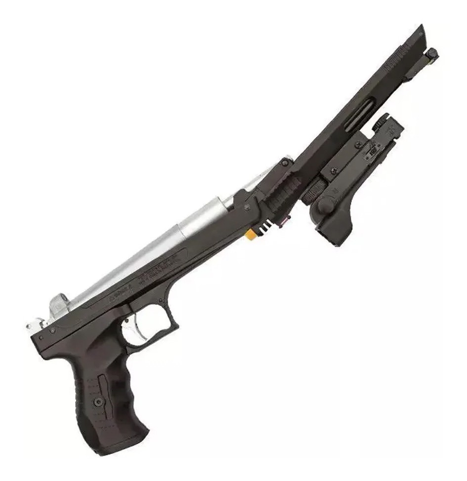 Pistola De Pressão Chumbinho Beeman 2006 5,5mm K1 C/ Red Dot