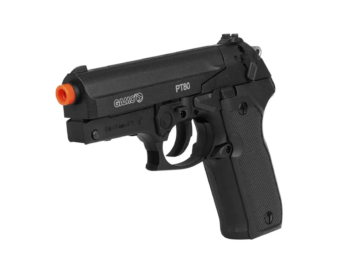 Pistola de Pressão Chumbinho Pt80 Gamo Limitada Co2 4.5mm 10