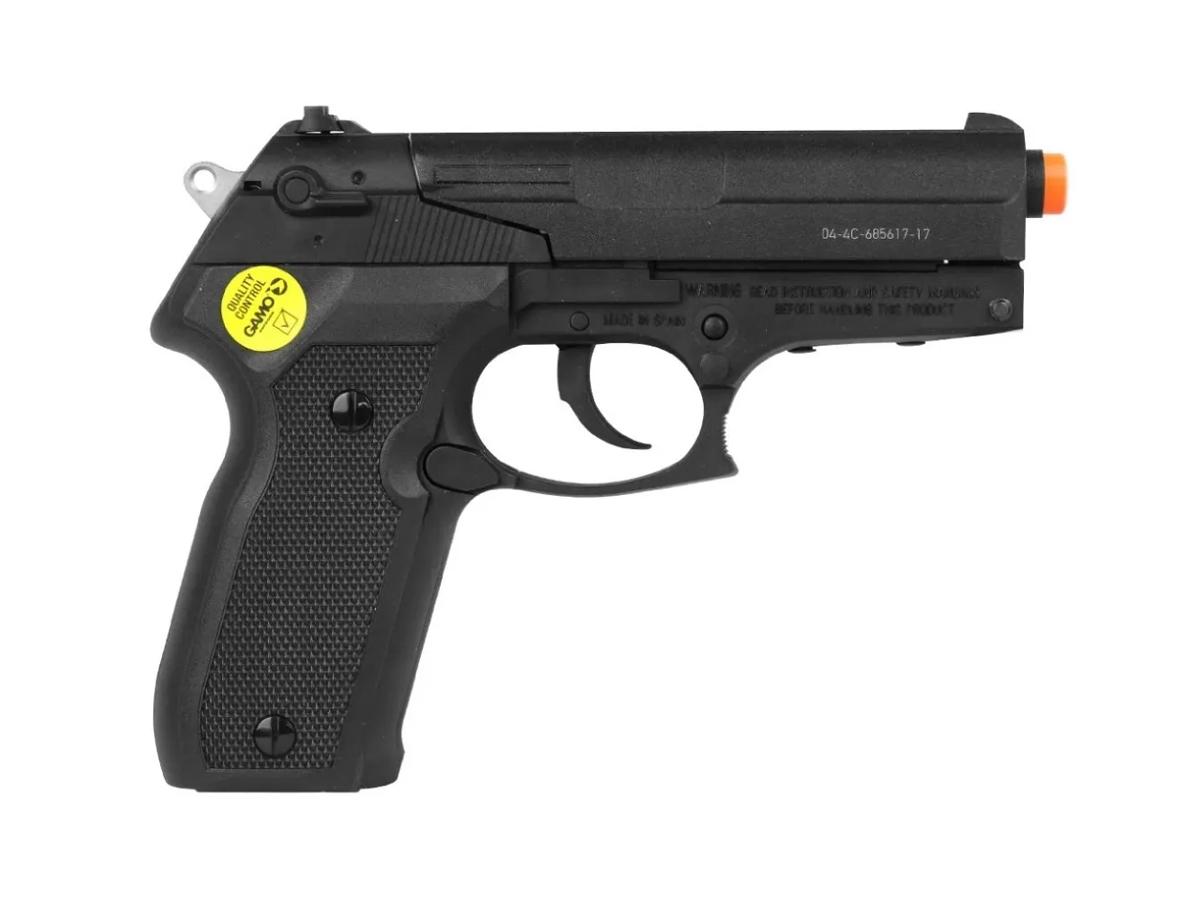 Pistola de Pressão Chumbinho Pt-80 Gamo Limitada Co2 4.5mm 5