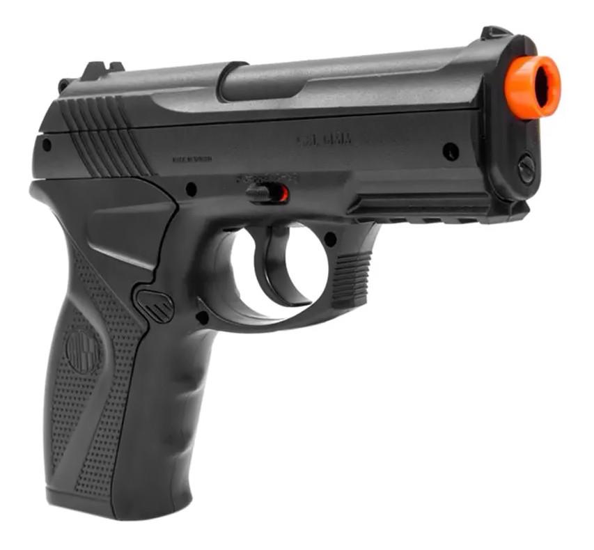 Pistola de Pressão Rossi C11 Co2 6mm esfera de aço + 5 Co2 + Maleta