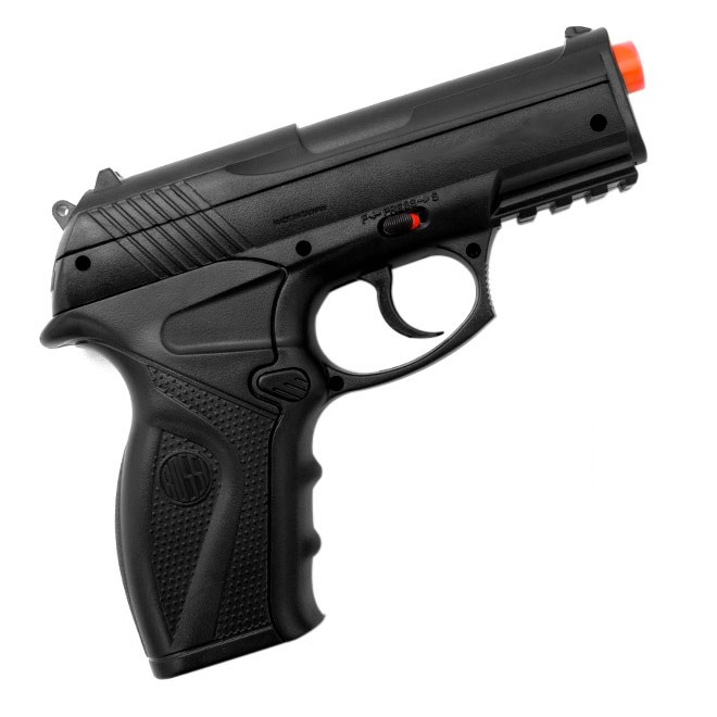 Pistola de Pressão Rossi C11 CO2 4.5mm Airgun K1 + Maleta Blowback