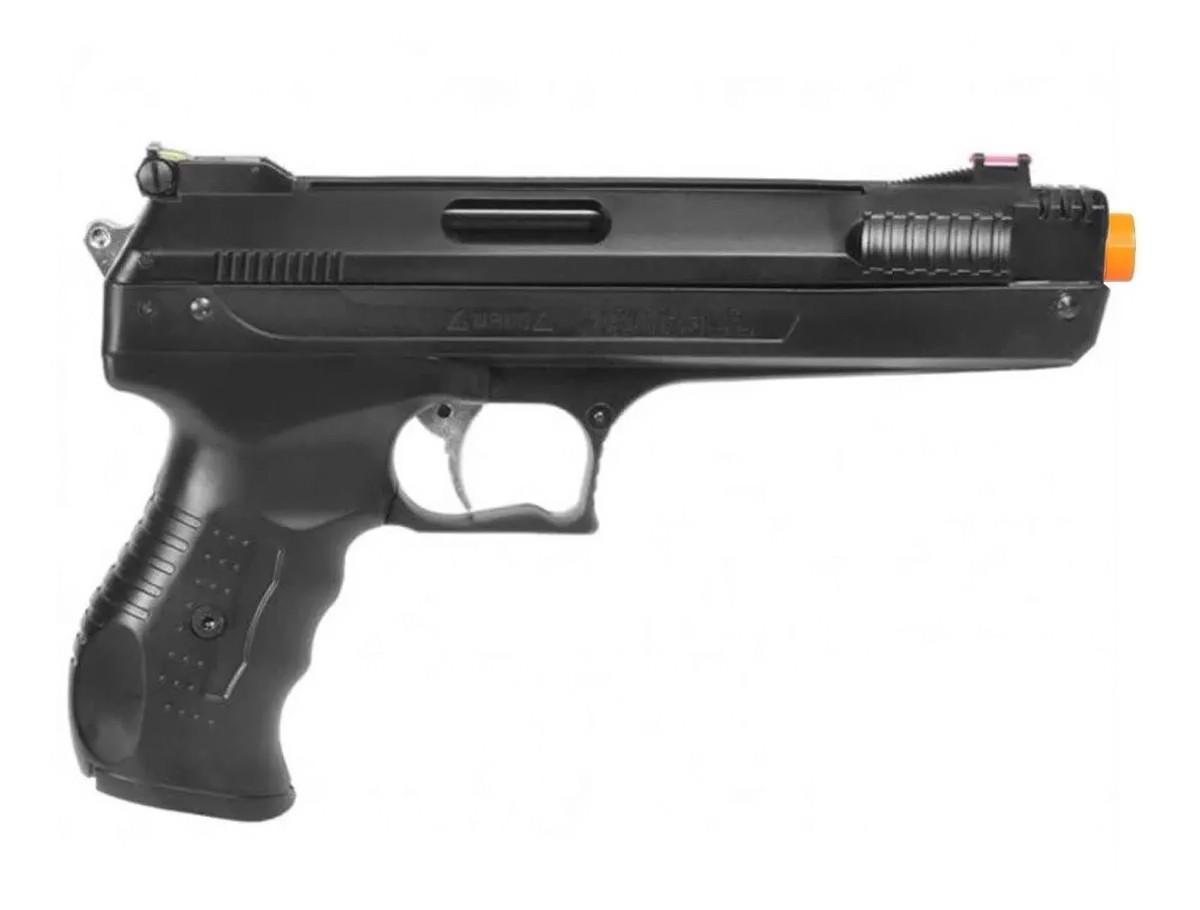 Pistola de Pressão Beeman 2004 5.5mm  Airgun + 1 Pack de Chumbinho