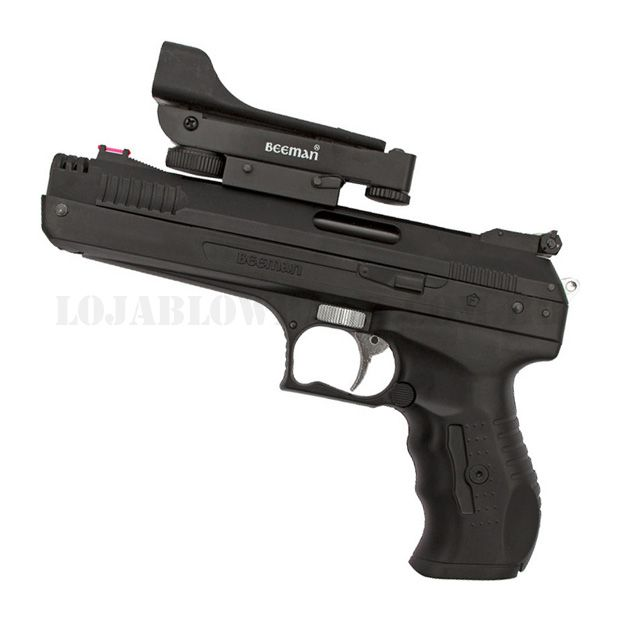 Pistola Airgun Beeman 5,5mm + Red Dot
