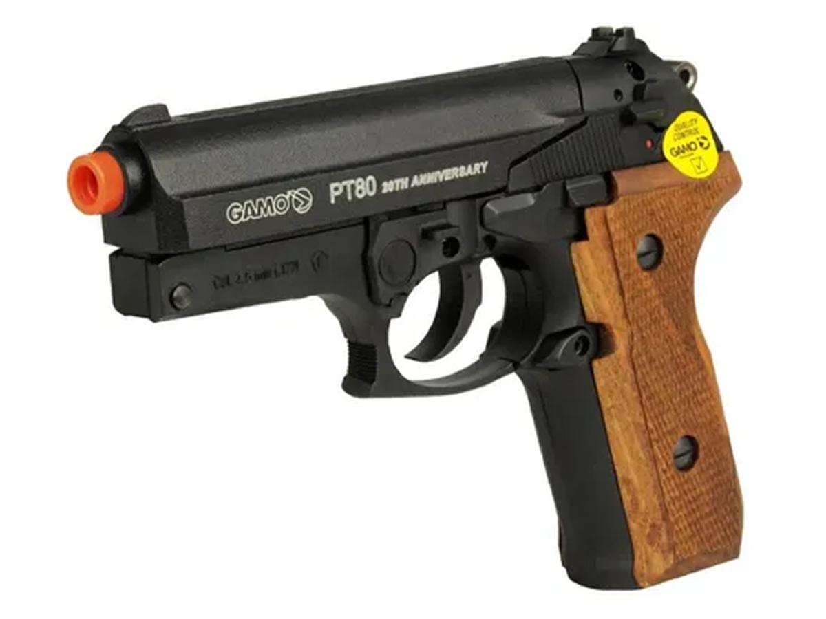 Pistola Pressão Co2 Gamo Pt-80 Limitada Chumbinho 4.5mm Kit2