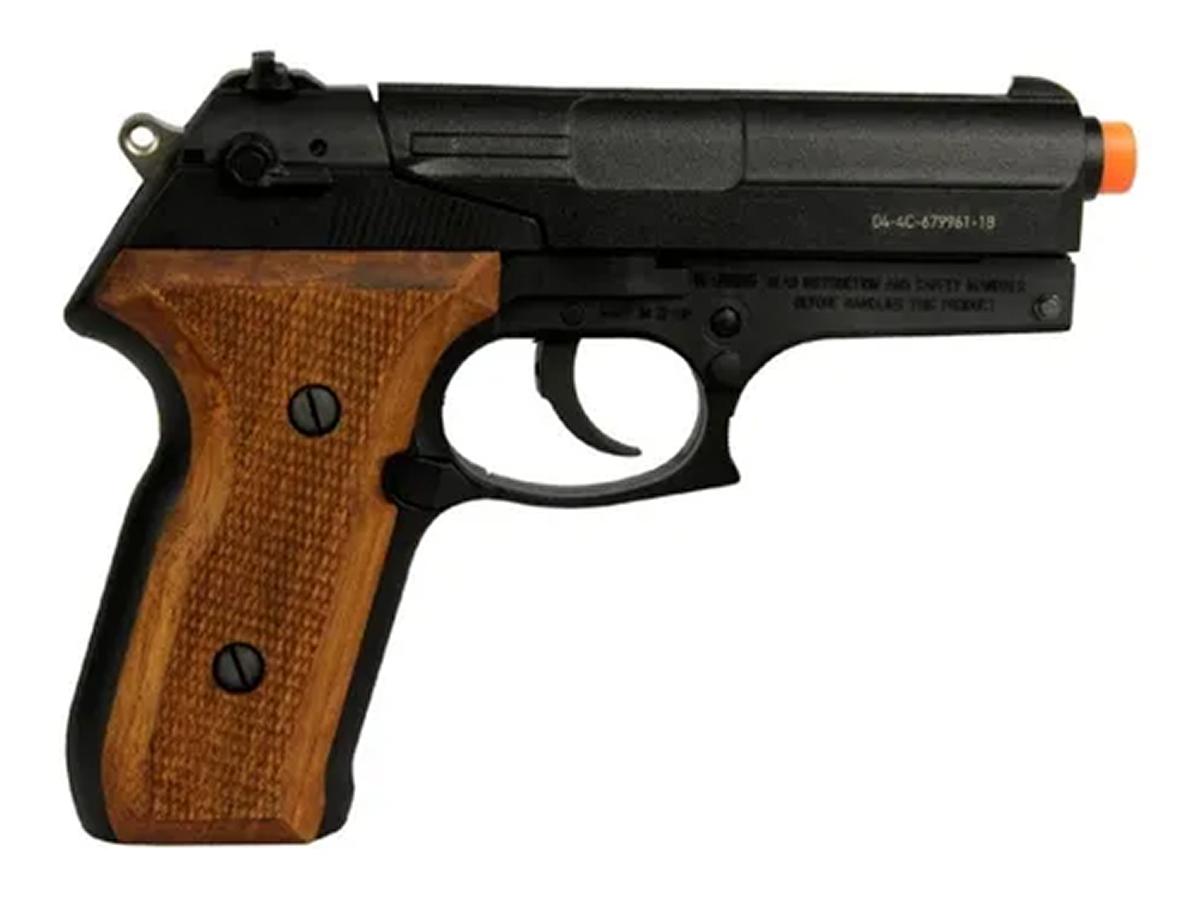 Pistola Pressão Co2 Gamo Pt-80 Limitada Chumbinho 4.5mm Kit3
