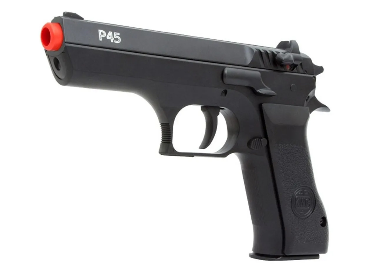 Pistola Pressão Pcp P45 Kwc Slide Metal Airgun Rossi 4.5mm 2