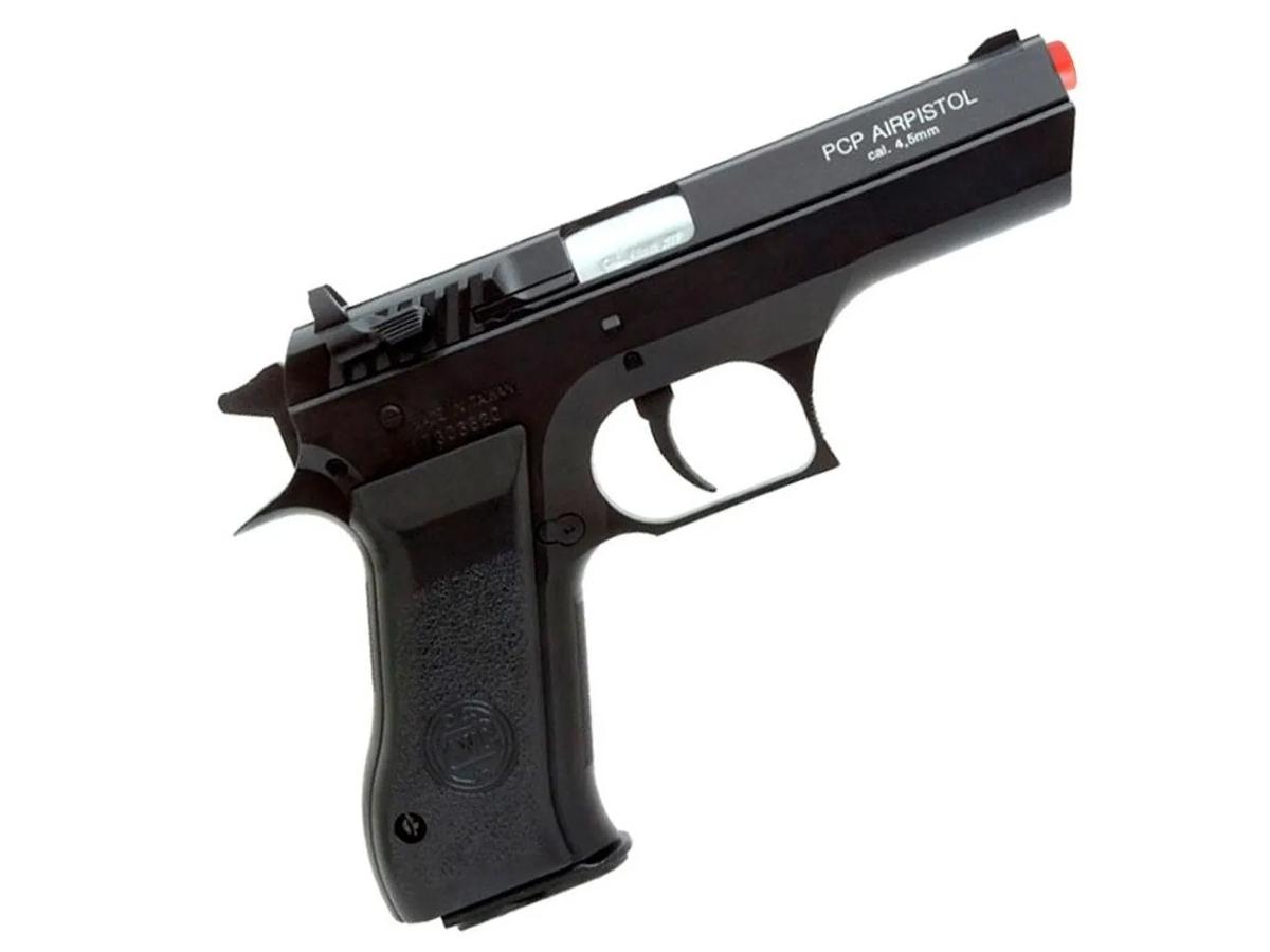 Pistola Pressão Pcp P45 Kwc Slide Metal Airgun Rossi 4.5mm 3