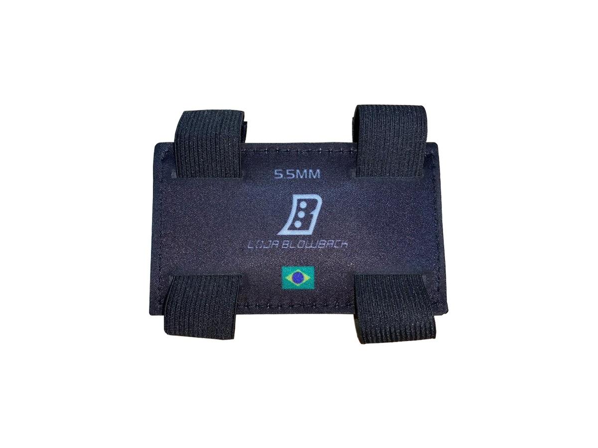 Porta Chumbinho P/ Carabina De Pressão 5,5mm + Luneta 4x20