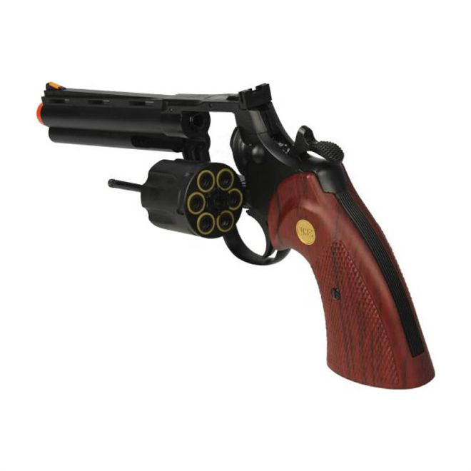 REVOLVER AIRSOFT GBB SMITH & WESSON UHC UG-139B + GREEN GAS
