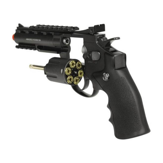 Revolver Airsoft Rossi 701 4 Pol. CO2 6mm Full Metal
